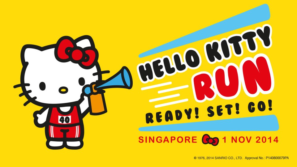Hello Kitty Run 2014: Celebrating Hello Kitty's 40th Birthday in Singapore!