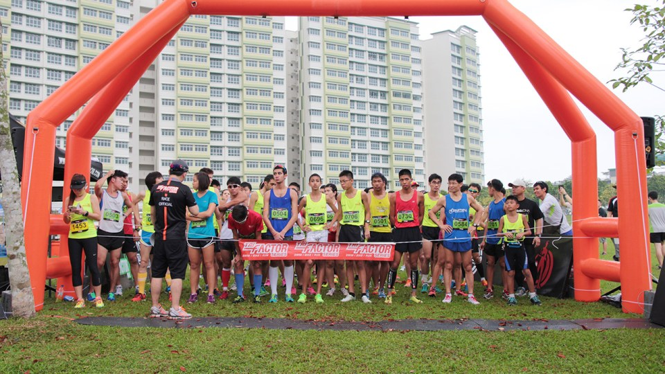 TRI-Factor Run 2014: Thousands Ran their Best at Punggol Waterway Park