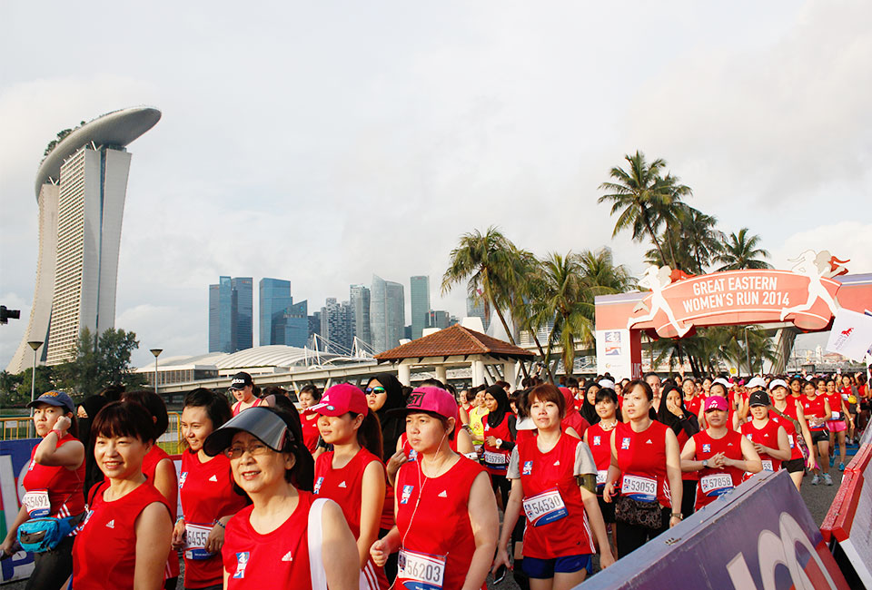 Most Impressive Great Eastern Women's Run With Biggest Turnout & Most Post-Run Activities