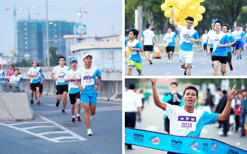 More than 6,300 Runners Conquered the Bridge at HCMC Run 2015