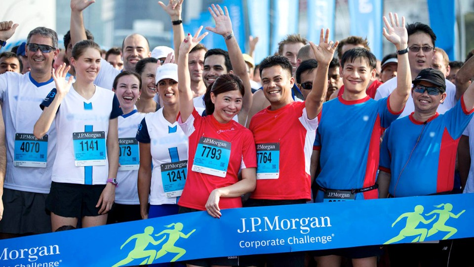 Round Up Your Work Buddies, The J.P. Morgan Corporate Challenge® Is Back!