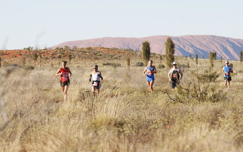 Feel the Red Earth: Australian Outback Marathon