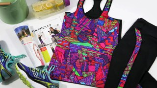 Funkita Activewear Funky Brick Braque Set: Put Your Workout in The Limelight