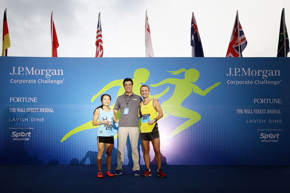 J.P. Morgan Corporate Challenge® Singapore: 14,264 Runners End A Workday with a Smile
