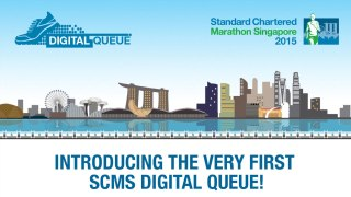 Standard Chartered Marathon Singapore 2015: First ever Digital Queue to Boost Interaction