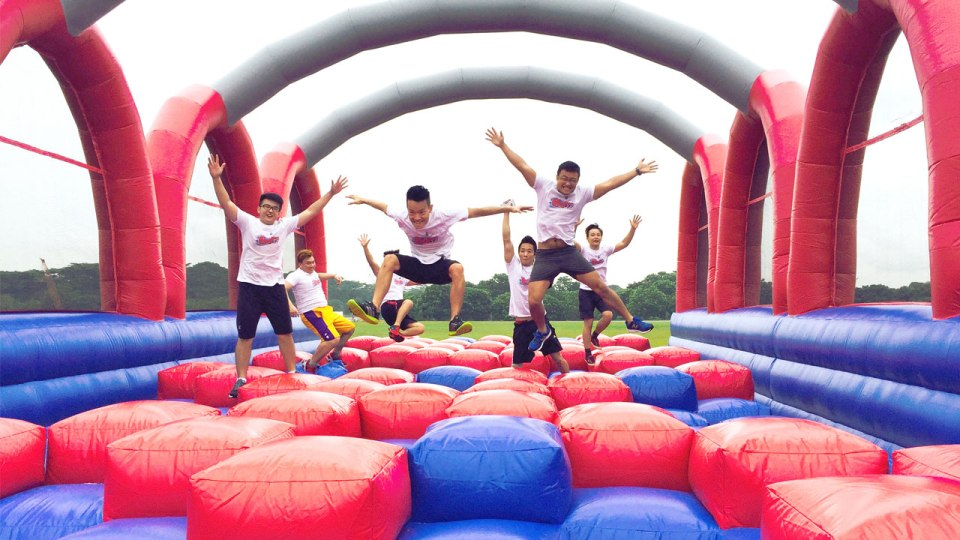 BOUNCEOFF! onto Asia's Largest Inflatable Race in Singapore