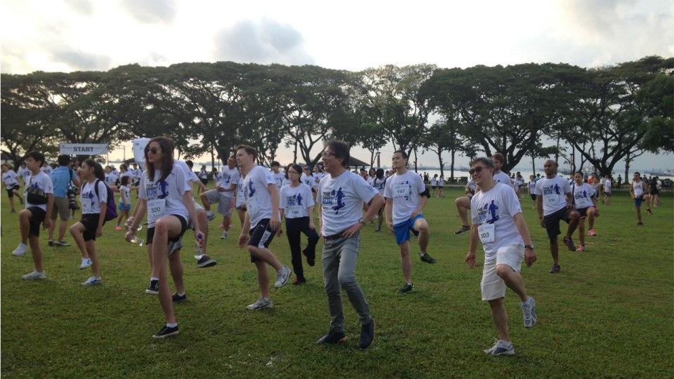 Urgent Run Singapore 2015: Stop the 'Stink'!
