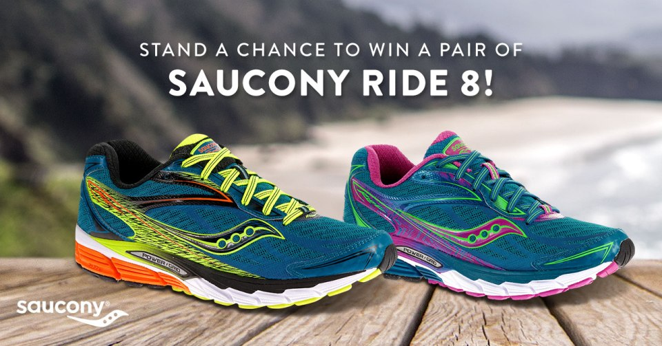 Saucony Ride 8: Win a Pair Today!
