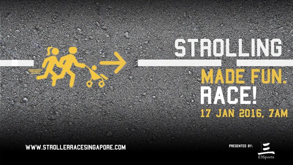 Stroller Race Singapore 2016