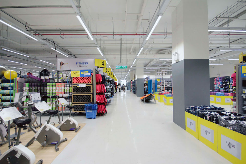 Decathlon's First Sports Megastore Opens in Singapore