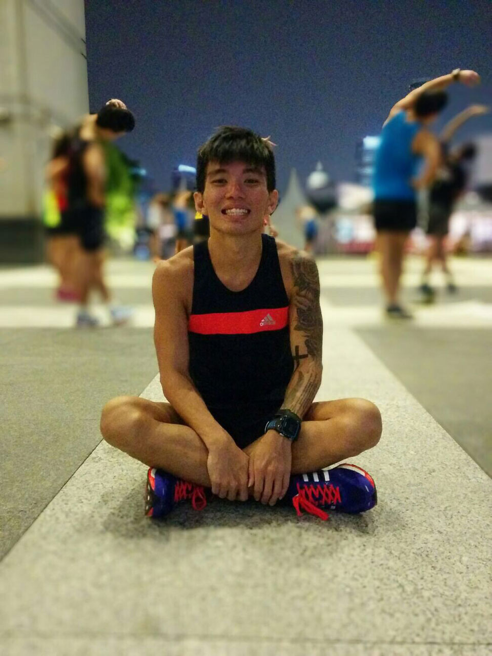 Hubert CJY: His Lofty Goal? Running a 3-Hour Full Marathon!