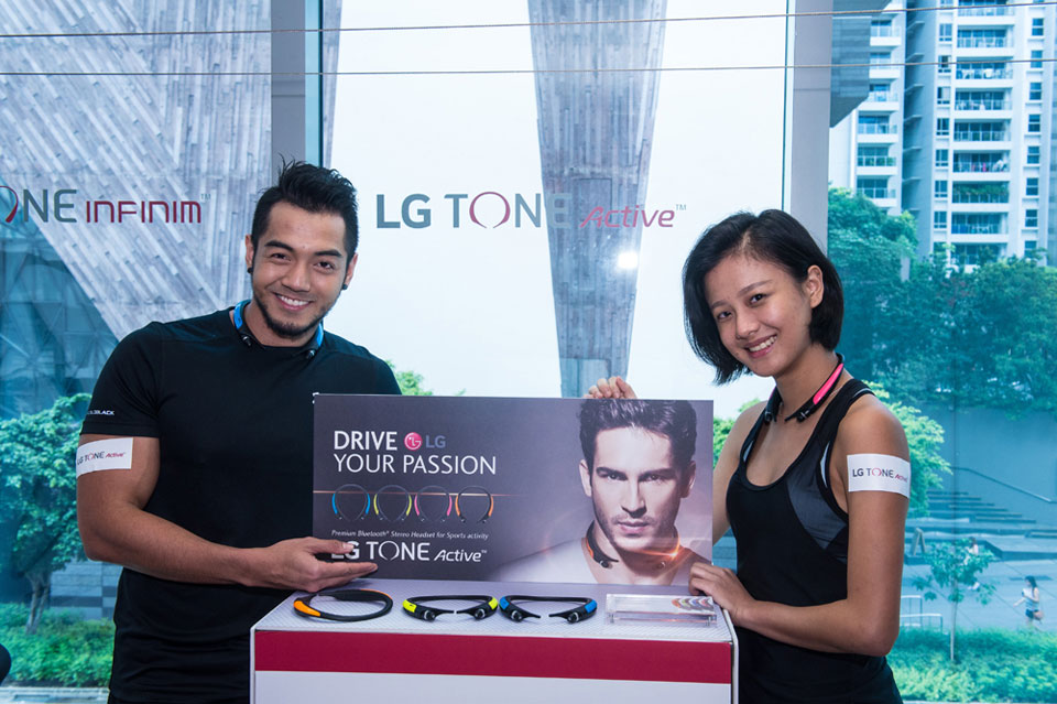 LG TONE Active Joins its Popular TONE Series Bluetooth Headsets