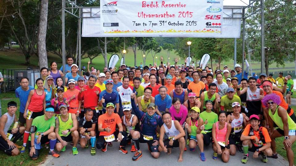 Bedok Reservoir Ultramarathon 2016