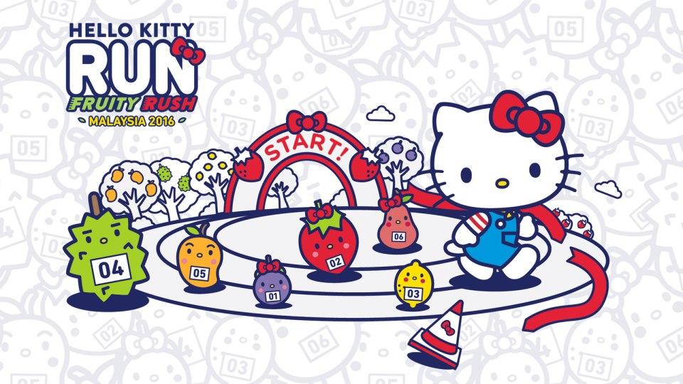 2016 Hello Kitty Fruity Rush Malaysia