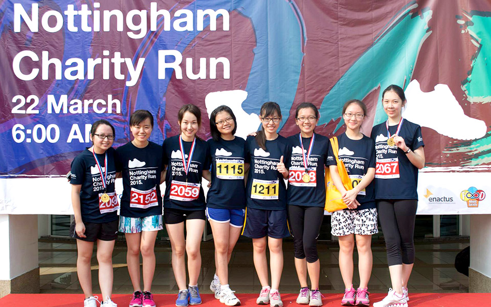 Step Up For Those Who Can't In the Nottingham Charity Run 2016