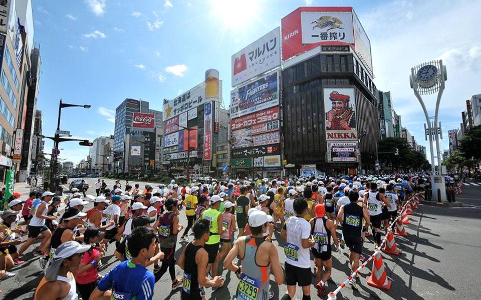 Summer Lovin' in 30th Hokkaido Marathon