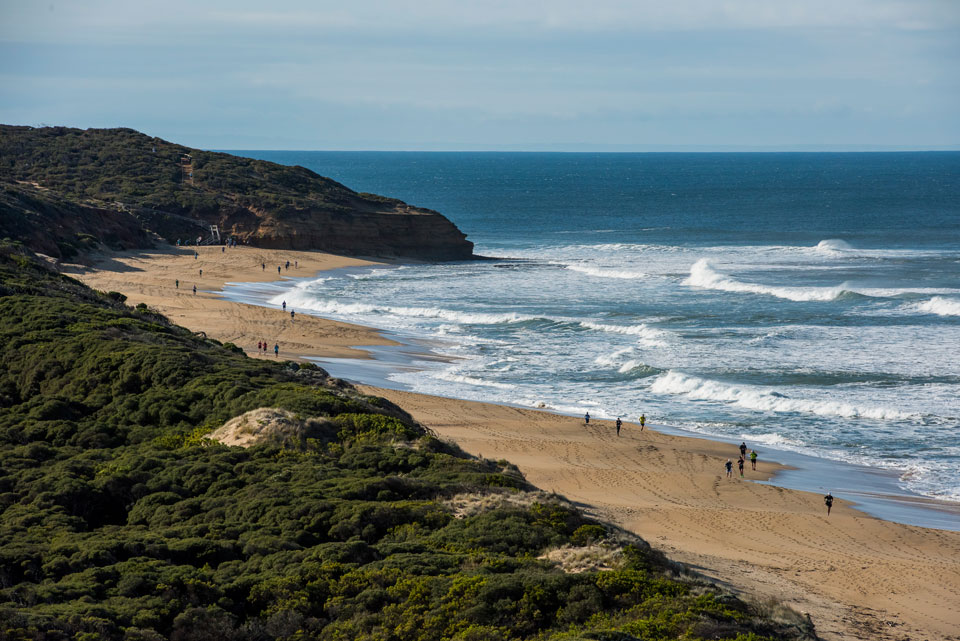 No Better Place to Try Trail Running Than at Surf Coast Walk