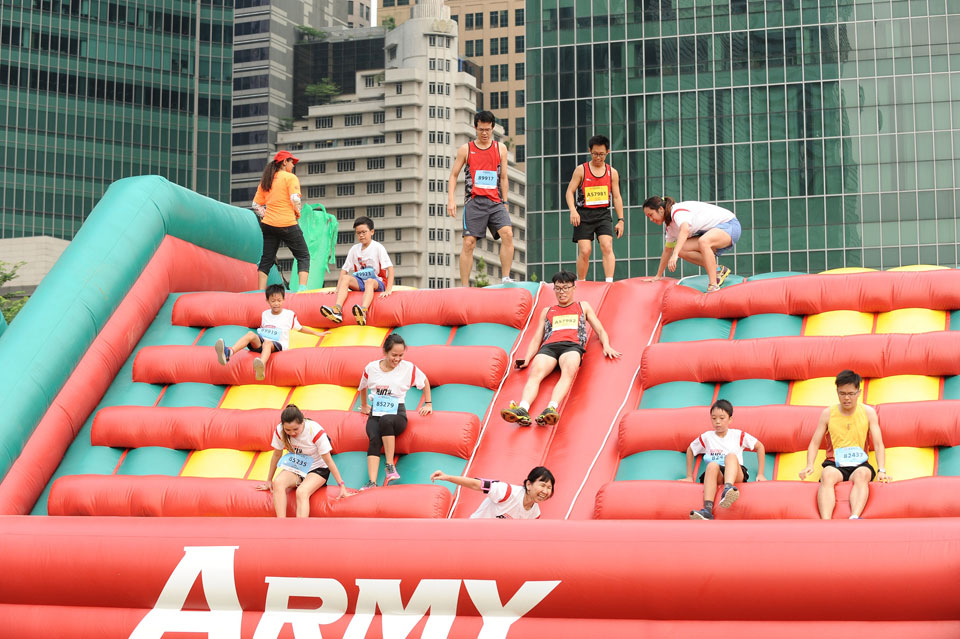 SAFRA Singapore Bay Run & Army Half Marathon 2016: Together We Run