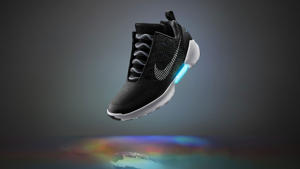 Nike Unveils Self-Lacing Shoes: Nike HyperAdapt 1.0