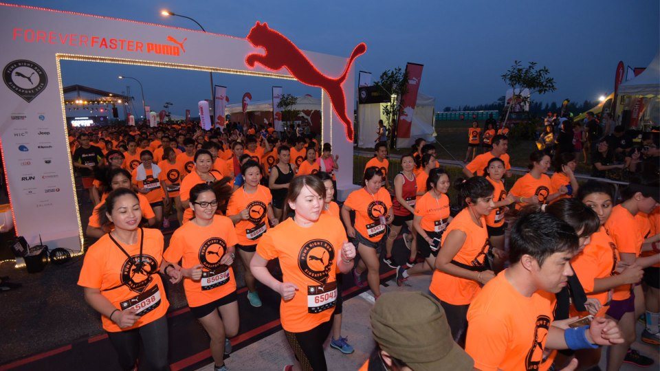 PUMA Night Run Singapore 2016 Race Report: Explore the Less Trodden Part of Singapore