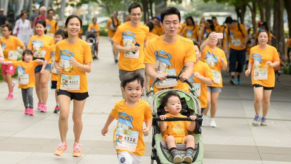 Garfield Run 2016 Race Review – Celebrate Time with Friends and Family through Running