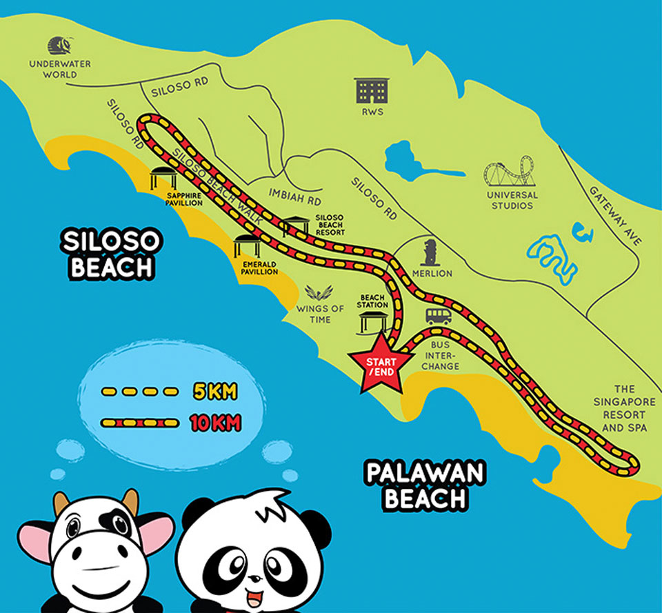 Meiji Run 2017 Race Route