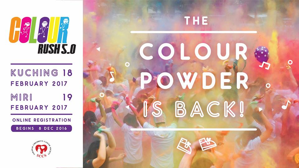 The Colour Rush Run 5.0 - Kuching and Miri 2017