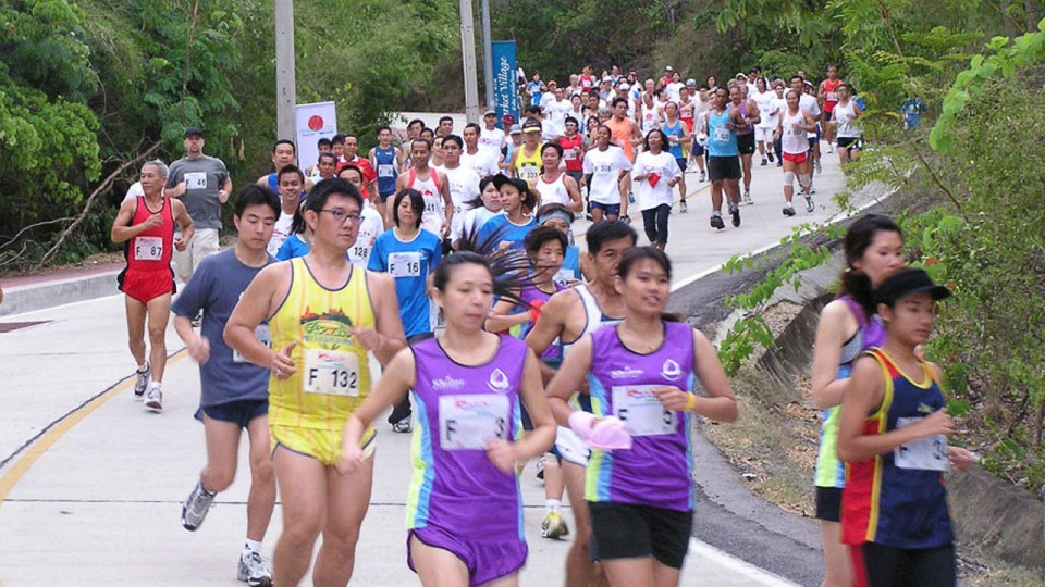 Preserve Hua Hin Beach Run 2017
