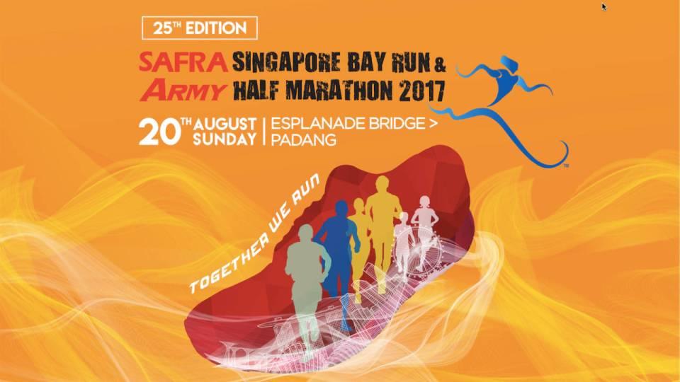 SAFRA Singapore Bay Run & Army Half Marathon 2017