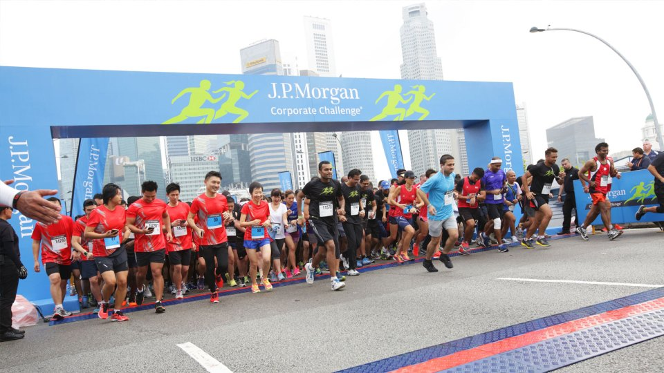 J.P. Morgan Corporate Challenge 2017: The Largest Corporate Team Sporting Series in the World