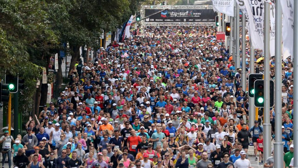 Perth City to Surf 2017