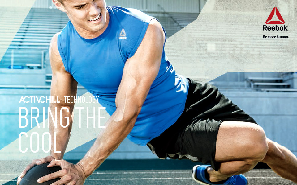 """Reebok ActivChill Gives New Meaning to the Term """"No Sweat""""!"""