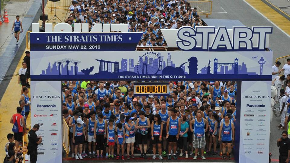 The Straits Times Run 2017