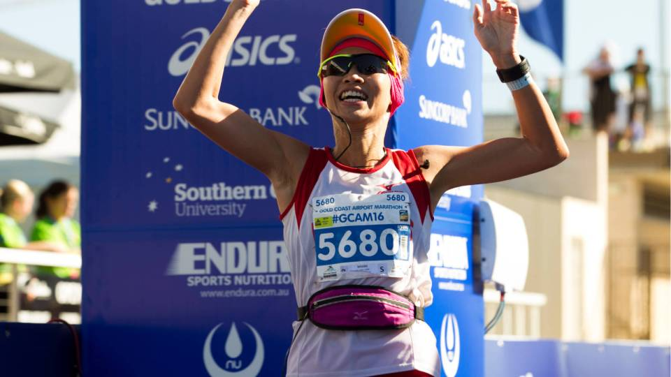 Go, Jasmine Goh! This Singapore Running Star Was Born to Shine at Gold Coast Airport Marathon 2017