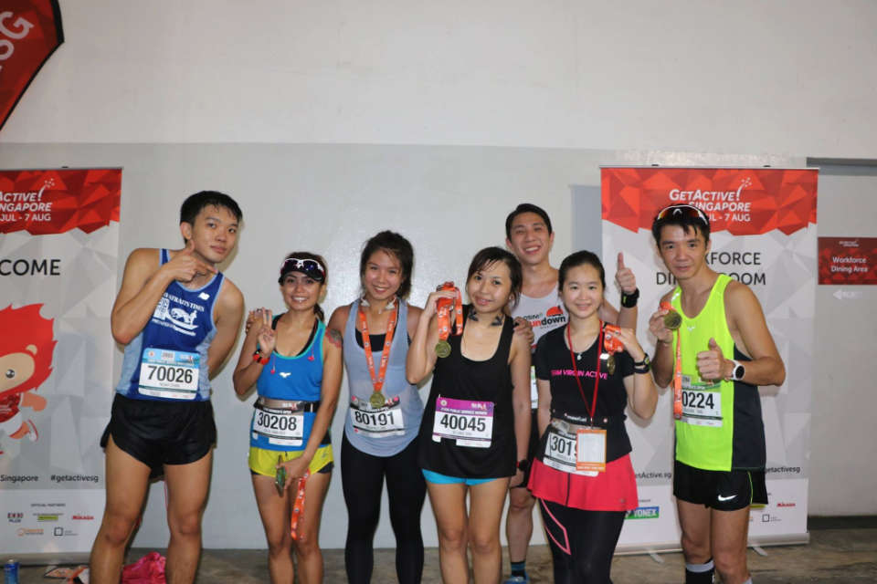 CSC Run by The Bay 2017 Shows Your Civic Pride