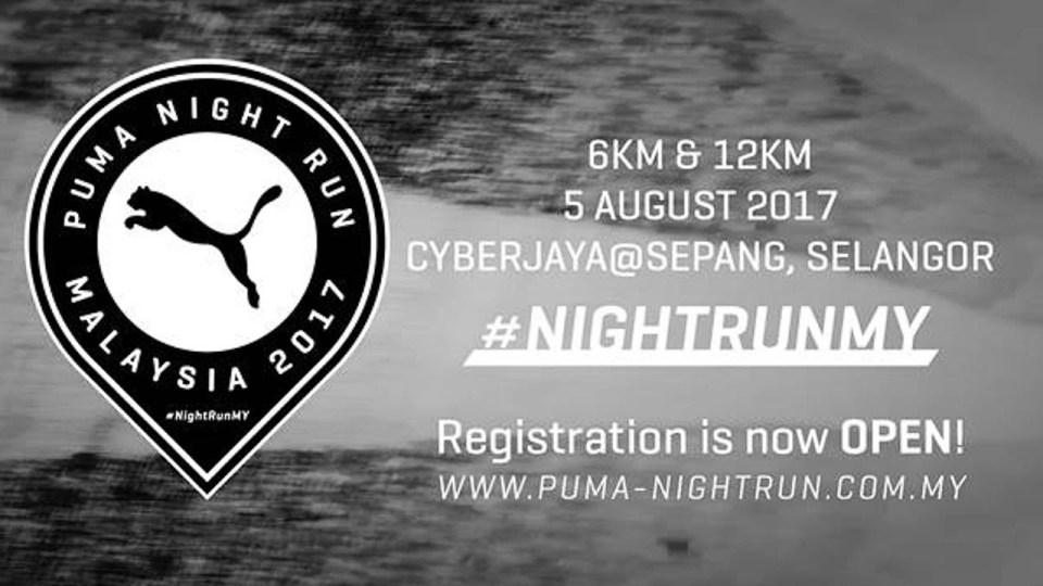 Puma Night Run Malaysia 2017