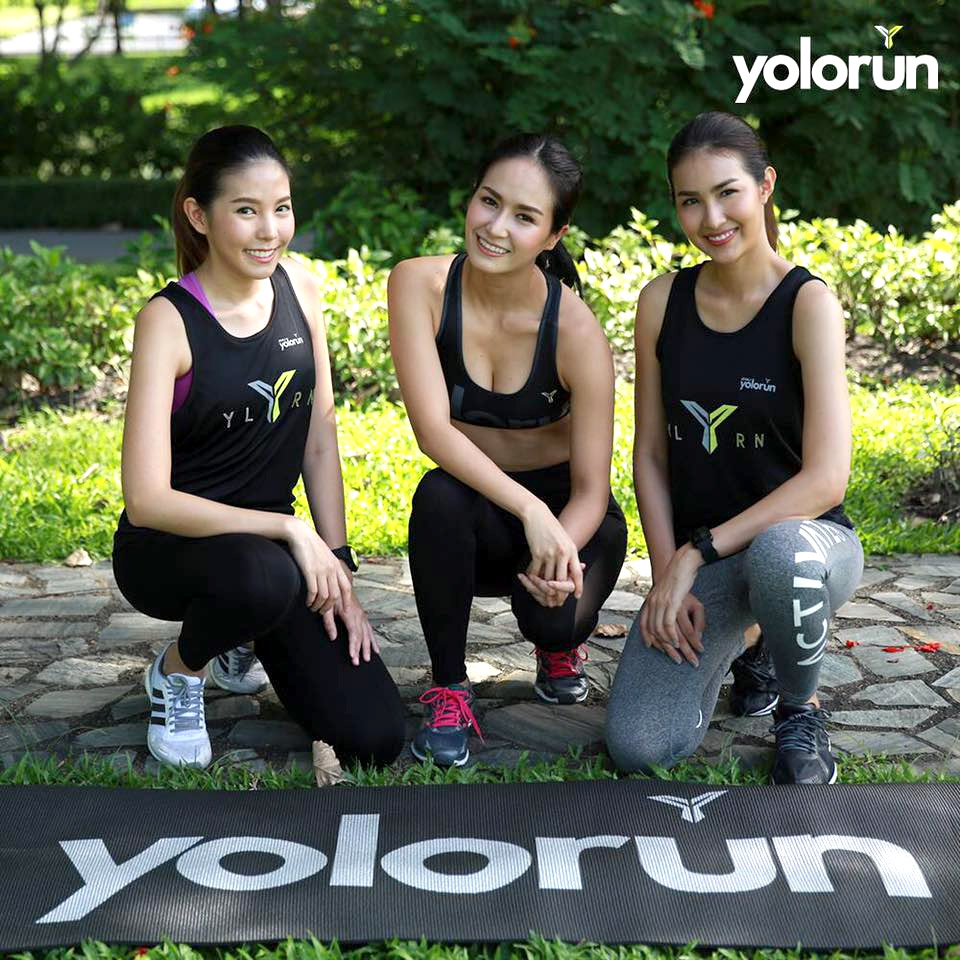 Let Your Feet Stand for Tolerance at Bangkok's 2XU YOLO Run 2017