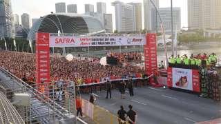 SAFRA Singapore Bay Run & Army Half Marathon 2017 Results