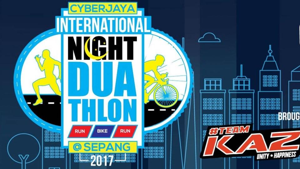Cyberjaya International Night Duathlon 2017