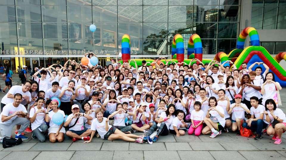 WorldVentures Foundation Send Largest Volunteer Contingent at Heartstrings Walk 2017