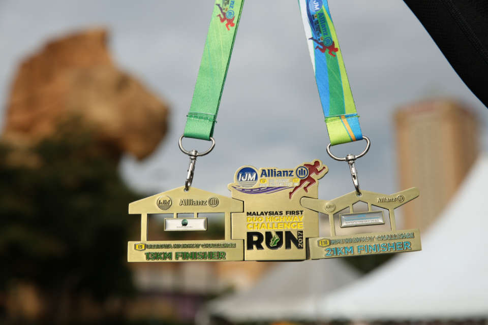 The Final Leg of IJM Allianz Duo Highway Challenge Ended at New Pantai Expressway (NPE) with More Than 9,000 Runners