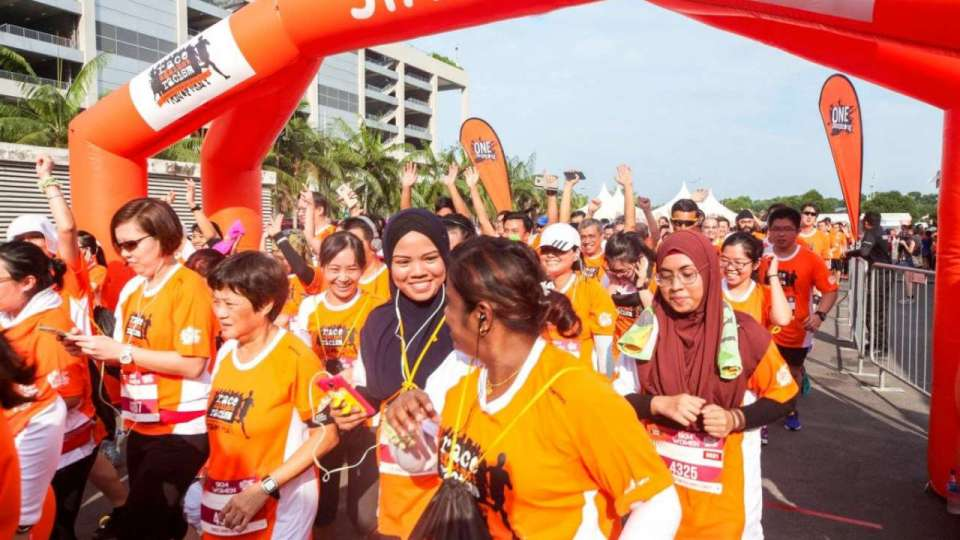 Orange Ribbon Walk 2017