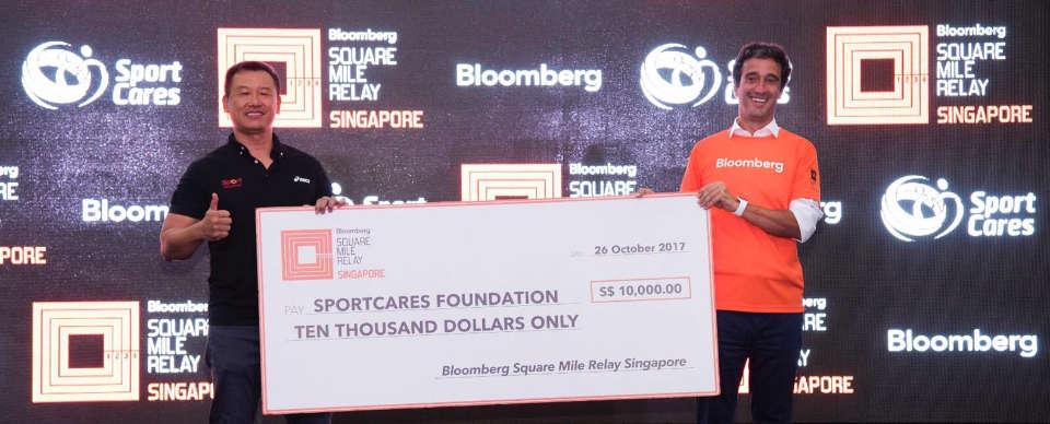 Team Macquarie Emerged as Winner of The Bloomberg Square Mile Relay Singapore 2017