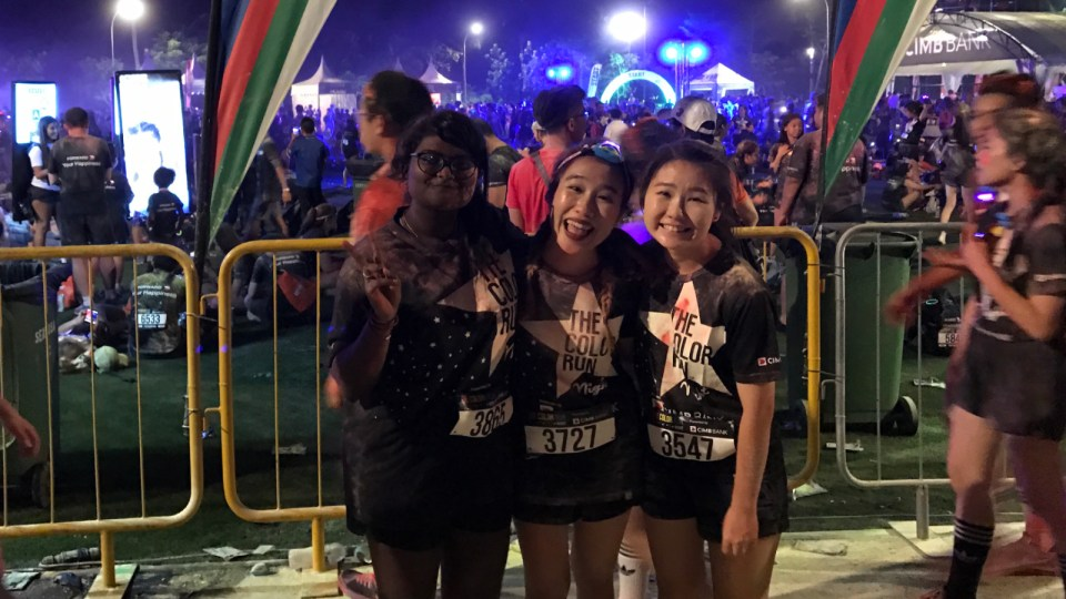 The Color Run Night 2017 Race Review: Lots Of Colour, Lots Of Fun!