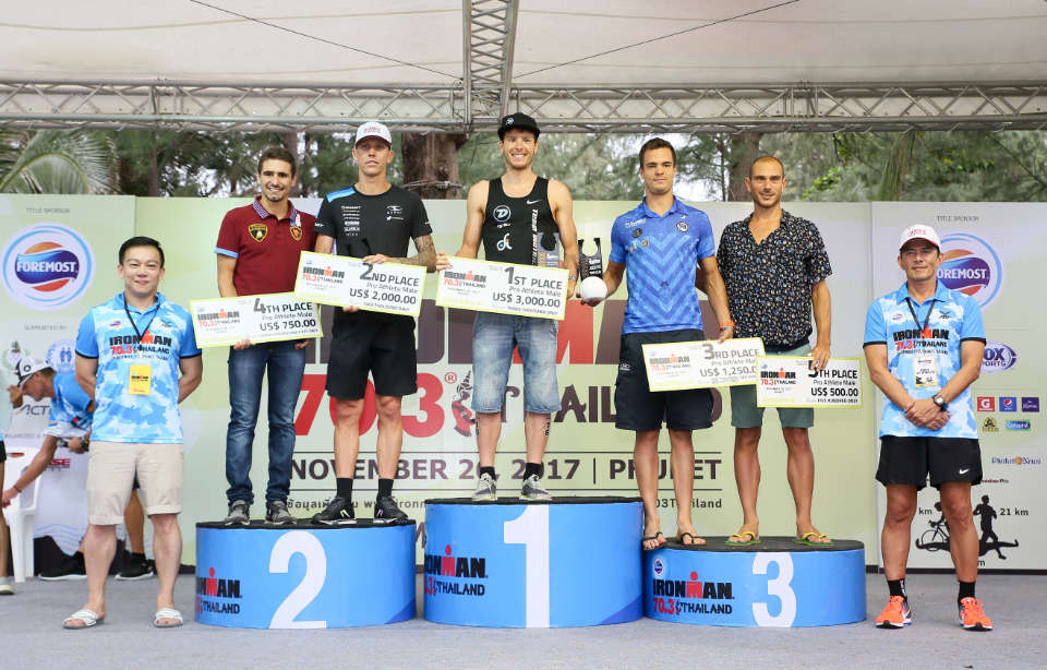 Foremost IRONMAN 70.3 Thailand 2017 Saw Nearly 1,500 Triathletes Turnout