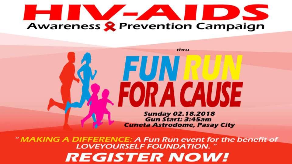 HIV Aids Awareness & Prevention Fun Run 2018