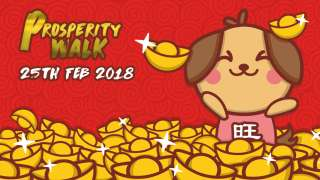 Prosperity Walk Singapore 2018: Celebrate the Day with Those You Love Most