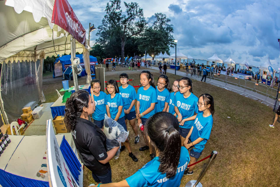 Should Singapore Running Event Volunteers Be Paid?