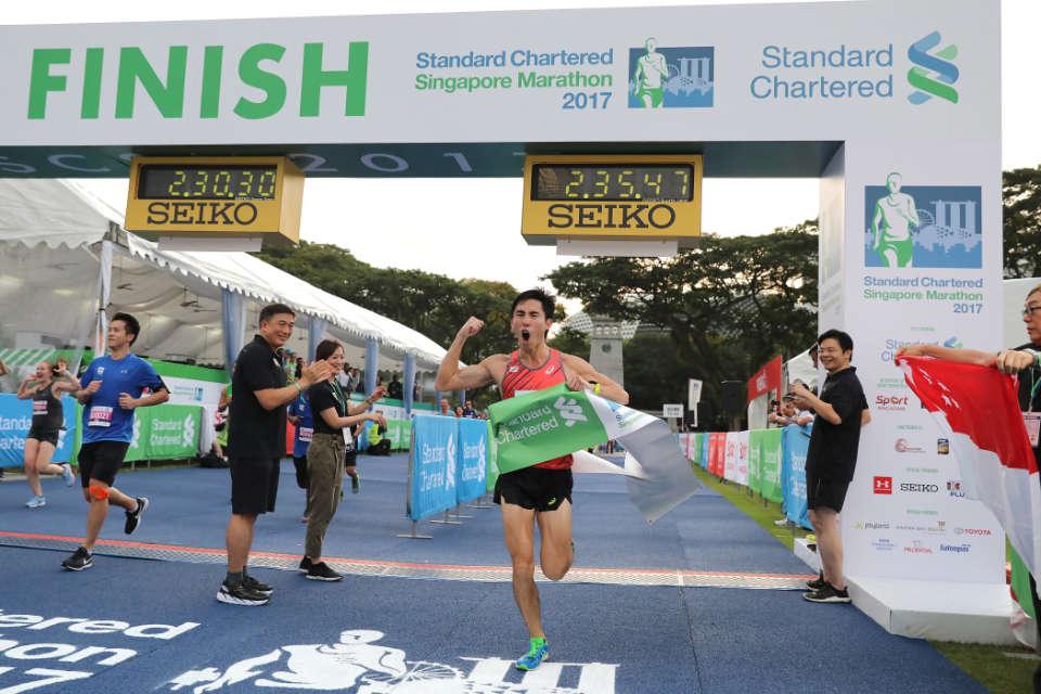 Singapore Marathon Race Results