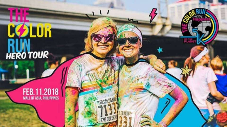 The Color Run Hero Tour 2018